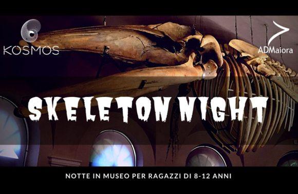 Skeleton night – Notte al museo
